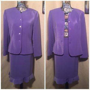 LE SUIT GORGEOUS 2 PC SKIRT SUIT